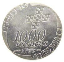 1000 эскудо 2001 г. «25 лет со дня революции 25 апреля»