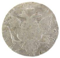 1 рубль 1770 г. СПБ-TI-СА
