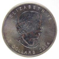 Канада. 5 долларов 2014 г.