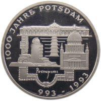 10 марок 1993 г. «1000 лет городу Потсдам»