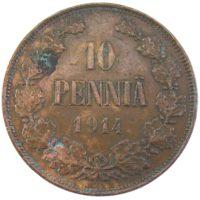 10 пенни 1914 г.