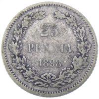 25 пенни 1898 г. L