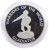 Конго. 10 франков 2009 г. «Гладиатор»