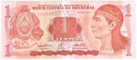 Гондурас. 1 лемпира 2001 г.