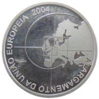 """Португалия. 8 евро 2004 г. """"Расширение Европейского Союза"""""""