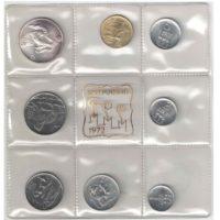 Сан-Марино. Набор монет 1972 г.