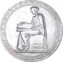 """Португалия. 20 эскудо 1953 г. """"25 лет финансовой реформе"""""""