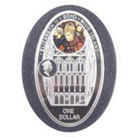 """Ниуэ. 1 доллар 2010 г. """"Вестминстерское аббатство"""""""