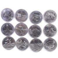 "Канада. Набор монет 1992 г. ""Провинции Канады"""