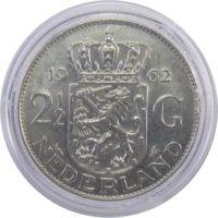 Нидерланды. 2.5 гульдена 1962 г.