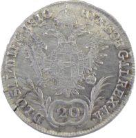 Австрия. 20 крейцеров 1810 г.  А