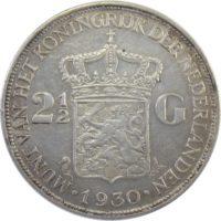 Нидерланды. 2.5 гульдена 1930 г.