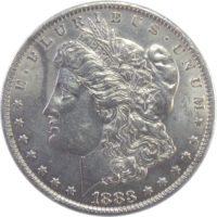 США. 1 доллар 1883 г.