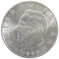 Австрия. 25 шиллингов 1969 г. «Петер Розеггер»