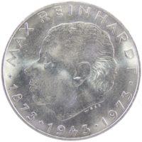 """Австрия. 25 шиллингов 1973 г. """"100 лет со дня рождения Макса Рейнхардта"""""""