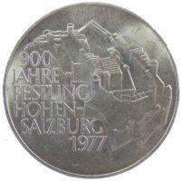 """Австрия. 100 шиллингов 1977 г. """"900 лет крепости Хоэнзальцбург"""""""
