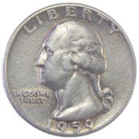 США. 25 центов 1959 г.