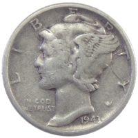 США. 10 центов 1943 г.
