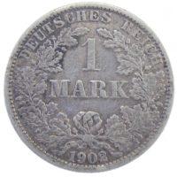 Германия. 1 марка 1902 г. A