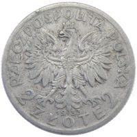 Польша. 2 злотых 1933 г.