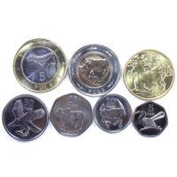 Ботсвана. Набор монет 2013 г.