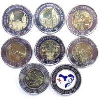 Панама. Набор монет 1 бальбоа 2019 г.