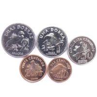 Сан-Томе и Принсипи. Набор монет 2017 г.