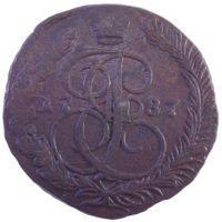 5 копеек 1787 г. ЕМ
