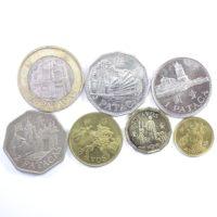 Макао. Набор монет 1993-2010 гг.