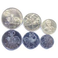 Свазиленд. Набор монет 2015 г.